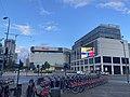 Westfield White City shopping centre deserted in April 2020.jpg