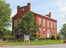 White County Courthouse Museum, Cleveland GA April 2017.jpg