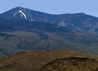 Esther Mountain - Whiteface (left), Esther (right), from Hurricane