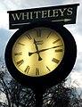 Whiteleys, public clock.jpg