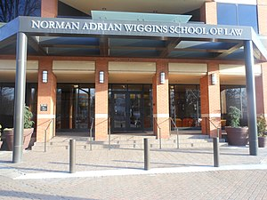 Norman Adrian Wiggins School of Law - Image: Wiggins Law School