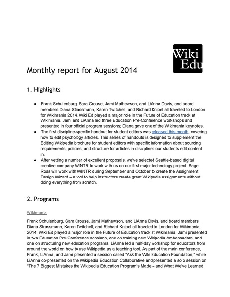 File:Wiki Education Foundation Monthly Report 2014-08.pdf