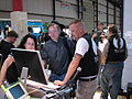 Wikimedia booth at Maker Faire 7.jpg
