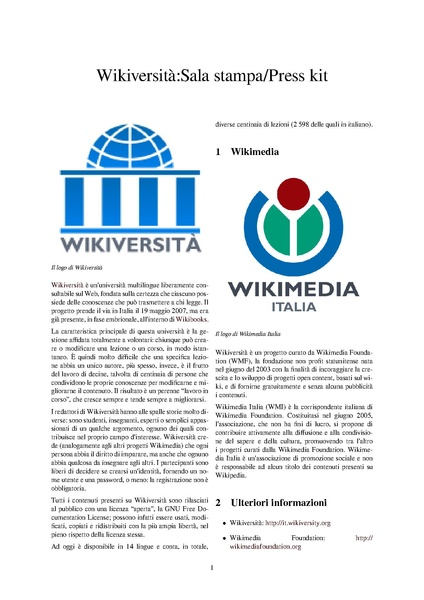 File:Wikiversità Sala stampa Press kit.pdf