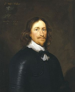 William Waller - General Sir William Waller by Cornelius Johnson,  1643, National Portrait Gallery, London, NPG 5819