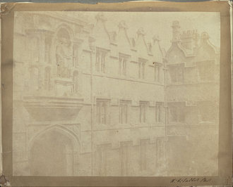 Radcliffe Quadrangle - Photograph (1842–4) of the Radcliffe Quadrangle by Henry Fox Talbot.