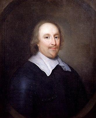 William Lenthall - Portrait of William Lenthall by Cornelis Janssens van Ceulen