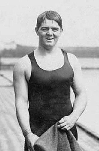 William Longworth - Longworth at 1912 Olympics