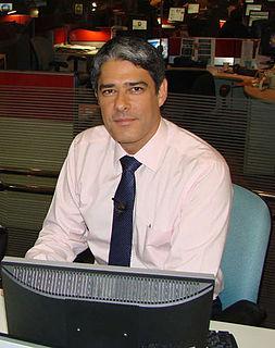 William Bonner (newscaster) Brazilian newscaster and journalist