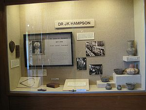 James K. Hampson - James K. Hampson exhibit at the Hampson Museum State Park