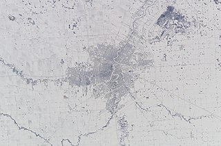 Geography and climate of Winnipeg