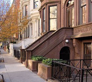 A Nero Wolfe Mystery - Manhattan Brownstone used for exteriors in A Nero Wolfe Mystery