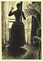 "Woman at the Window- Initial Conception for the painting, ""Sunday"" MET DR377.jpg"