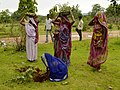 Women planting trees, Umaria district, MP, India.jpg
