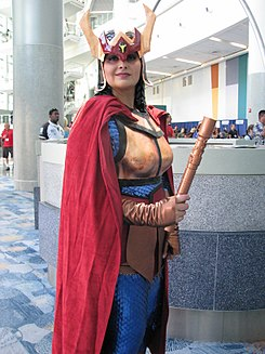 WonderCon 2014 - Big Barda Cosplay (13955015183).jpg