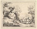 Wooded Landscape with Country Cart, Cottage and Figures MET DP819247.jpg