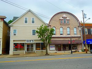Woodstown, New Jersey - Businesses on South Main Street