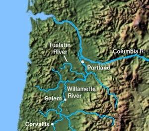 Tualatin River - Image: Wpdms shdrlfi 020l tualatin river