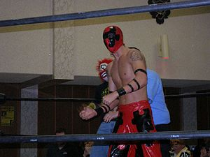 Jigsaw (wrestler) - Jigsaw at a Chikara show in 2007