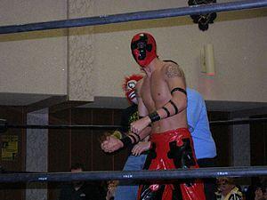 Jigsaw (wrestler) - Jigsaw at a Chikara show in 2007