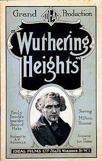 <i>Wuthering Heights</i> (1920 film) 1920 film