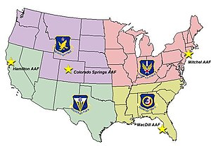 Numbered Air Force - World War II Air Districts and Numbered Air Forces.