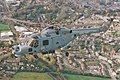 XZ732, Westland Lynx HMA.8 815 Squadron, Lynx Operational Evaluation Unit (LOEU), Dorchester, 01-06-1996 (35645457275).jpg