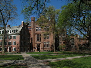 Yale Debate Association -  Linsly-Chittenden Hall on Old Campus, the building where the YDA hosts many of its tournaments and public debates.