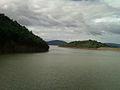 Yeleru dam reservoir at Yeleswaram view 02.jpg
