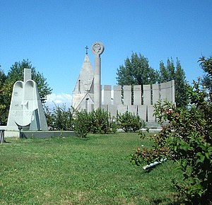 Malatia-Sebastia District - Yerablur cemetery and the Vartanants chapel