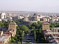 Yerevan from Cascade - Opera House in the middle.jpg