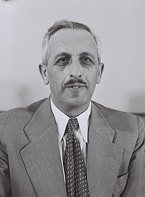 Mayor of Jerusalem - Image: Yitzhak Kariv