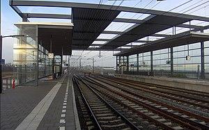 Den Haag Ypenburg railway station - Image: Ypenburgpanaroma