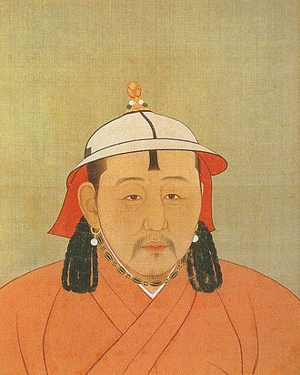 Külüg Khan - Portrait of Külüg Khan (Emperor Wuzong) during Yuan era.