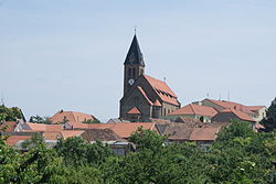 Skyline of Zaječí