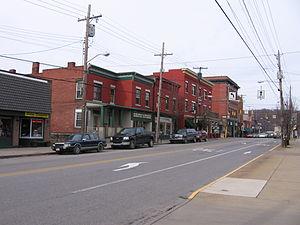 Zelienople, Pennsylvania - Downtown Zelienople
