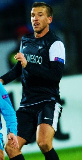 Ignacio Camacho - Camacho in action for Málaga in 2012