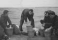 Zeugwäsche auf der Seemannsschule Travemünde-Priwall - 1955.png