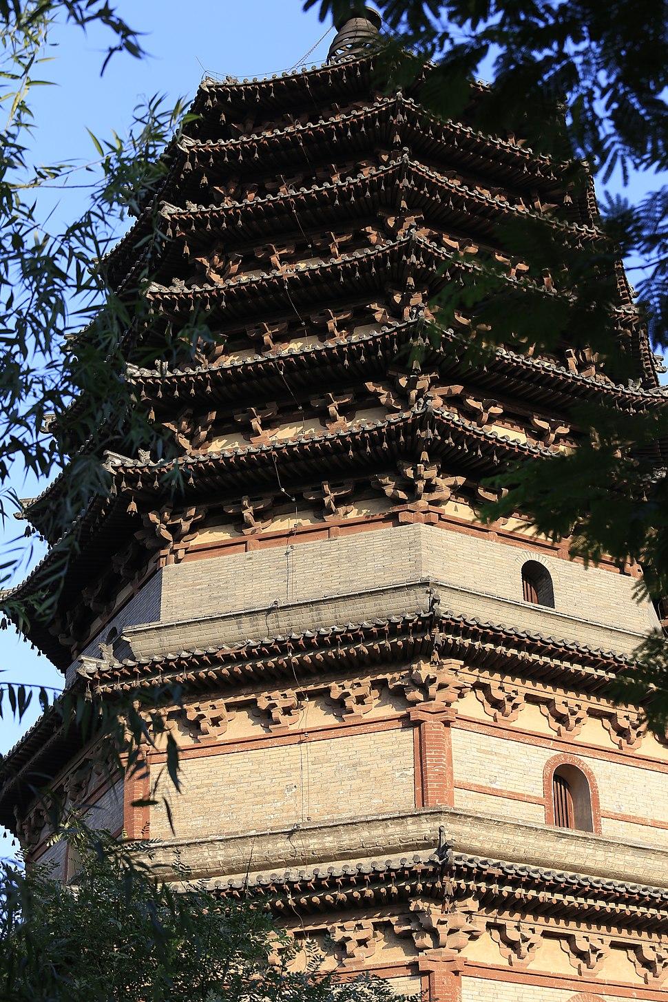 Zhengding Tianning Si Lingxiao Ta 2013.08.31 17-36-55
