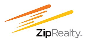 America's strongest local residential real estate brokerages ZipRealty's Logo as of 28 June 2010