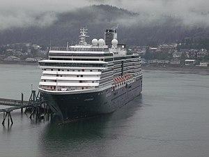 MS Zuiderdam - Image: Zuiderdam at Juneau, Alaska