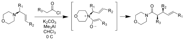 The zwitterionic Claisen rearrangement