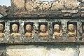 """""""11. Small faces on the wall of a temple in the village of Maluti in the Dumka district of Jharkhand.jpg"""