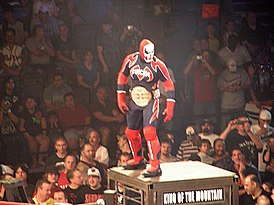 """Suicide"" the masked wrestler at Slammiversary 2009.jpg"