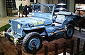 """ 15 - ITALY - Jeep (Fiat) stand in Milan - Willys MB - US NAVY - Seabees corp - U.S.N. NCB 540 blue convertible 4x4 01.jpg"