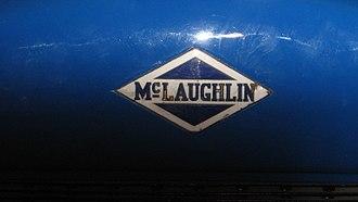 McLaughlin Motor Car Company - Badge in 1916