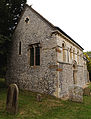 'Berfrestone' (DB) St Nicholas Church from west Barfrestone Kent England.jpg