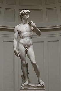 <i>David</i> (Michelangelo) Statue by Michelangelo