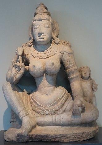 Ambika (Jainism) - Image: 'Digambara Yakshi Kushmandini' from Karnataka, India, c. 900, Norton Simon Museum
