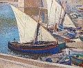 (Albi) Barques de pêche à Collioure - Henri Martin MTL.inv.319.jpg